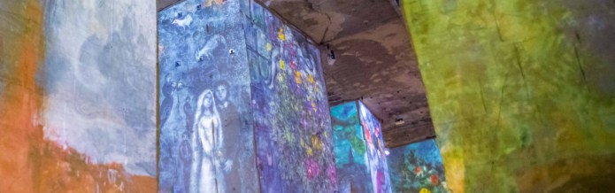 Baux-de-Provence Edition Chagall blog voyage icietlabas