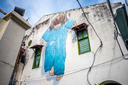 Street art à Georgetown Penang Malaisie Asie blogvoyage Icietlabas-Ernest Zacharevic