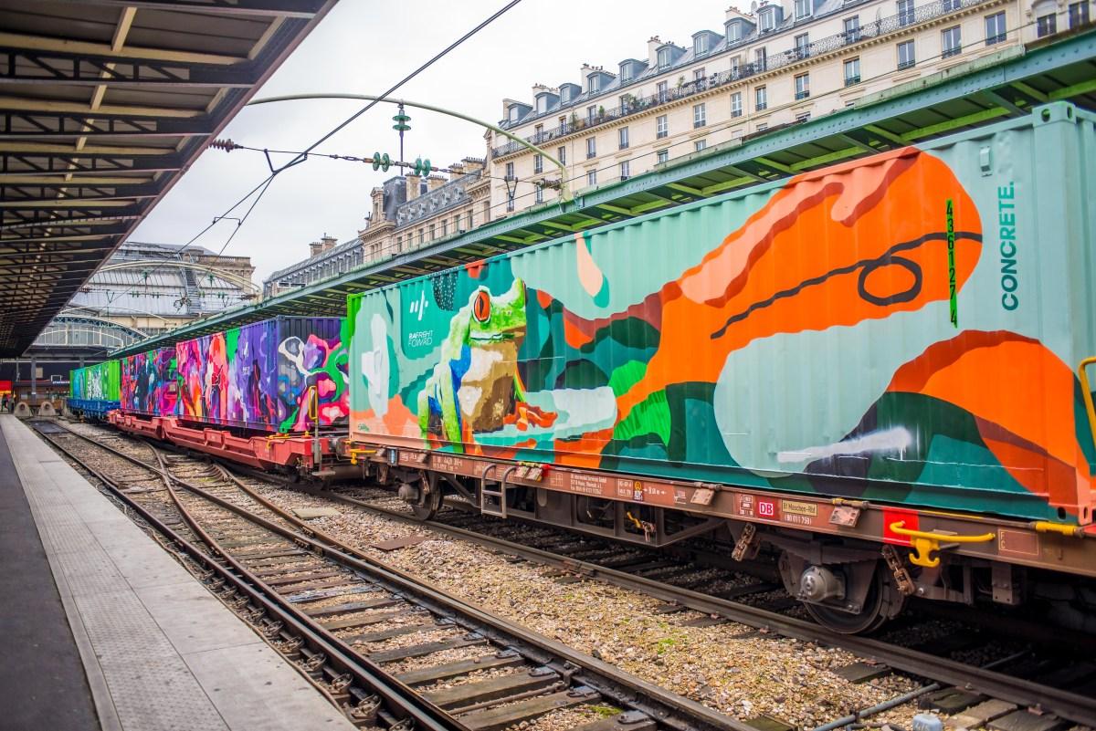 Train de Noé Street Art Paris Blog Voyage Icietlabas