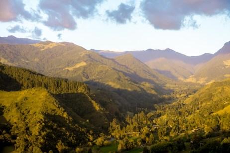 Mirador Alto de la Cruz Village Colombie Quindío Blog Voyage