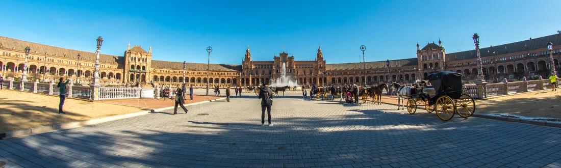 Seville Plaza España ville de cinemas blog voyage icietlabas