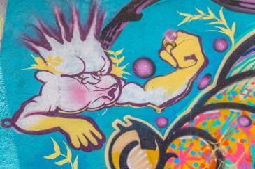 Comuna 13 Street Art Medellin Colombie Blog de Voyage Blog Voyage Trois semaines en Colombie-74