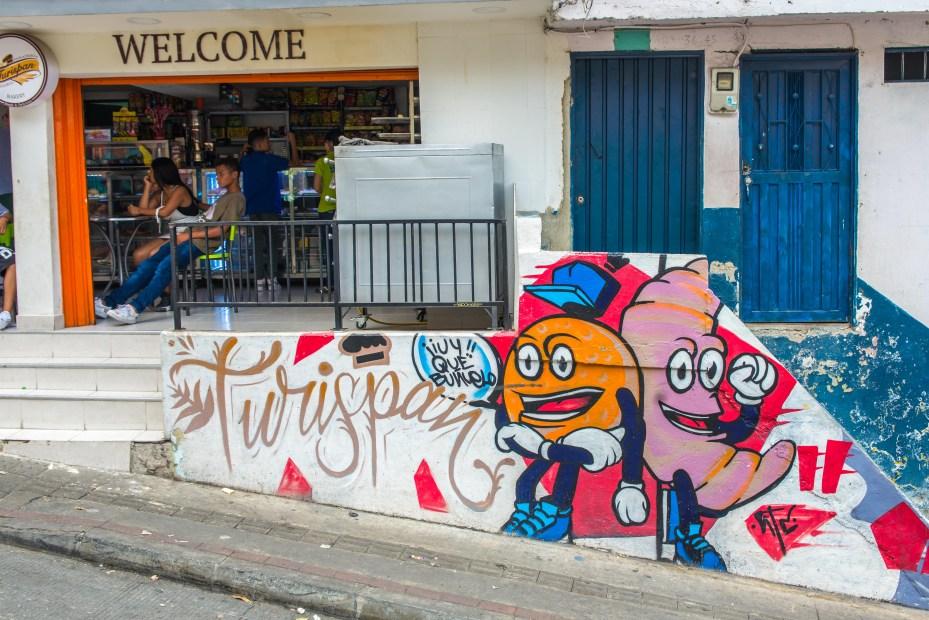 Comuna 13 Street Art Medellin Colombie Blog de Voyage Blog Voyage Trois semaines en Colombie-76
