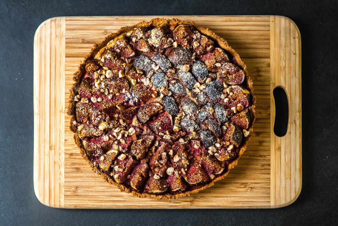 Recette tarte aux figues Blog voyage