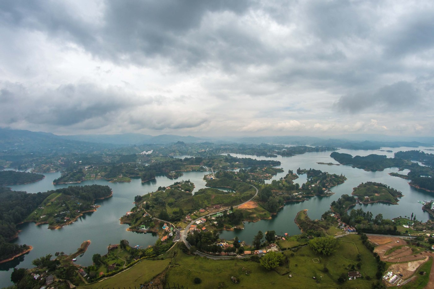 Colombie Piedra del Peñol blog voyage