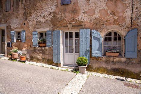 Blog de voyage en France une semaine de vacances passage Rustrel
