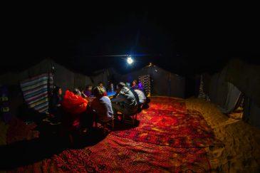 Désert du Sahara mergouza blog voyag