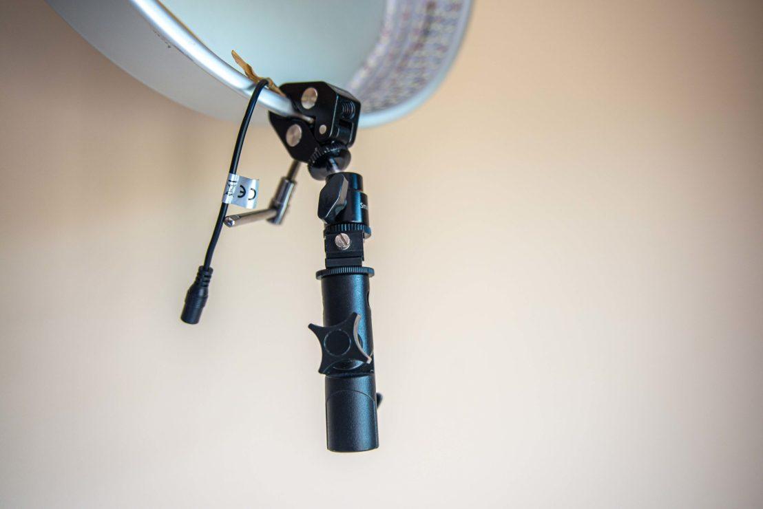 Fabriquer une Lumière Continue avec un Plat à Tarte tutoriel photo DIY blog voyage
