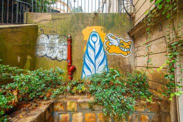Street art à Montmartre Paris Blog Voyage