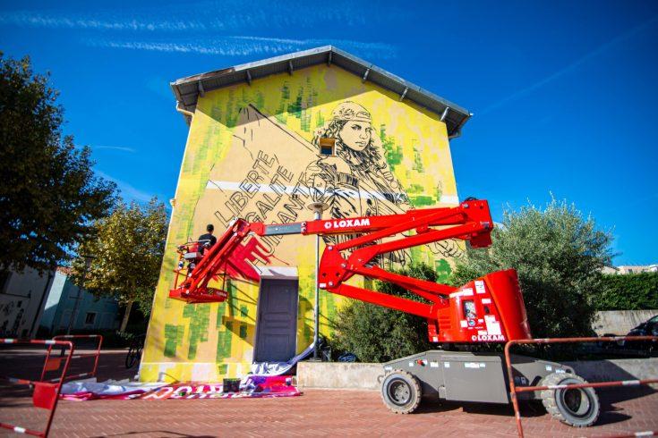 Street Art à Mouans-Sartoux Provence Alpes Côte d'Azur France blog voyage