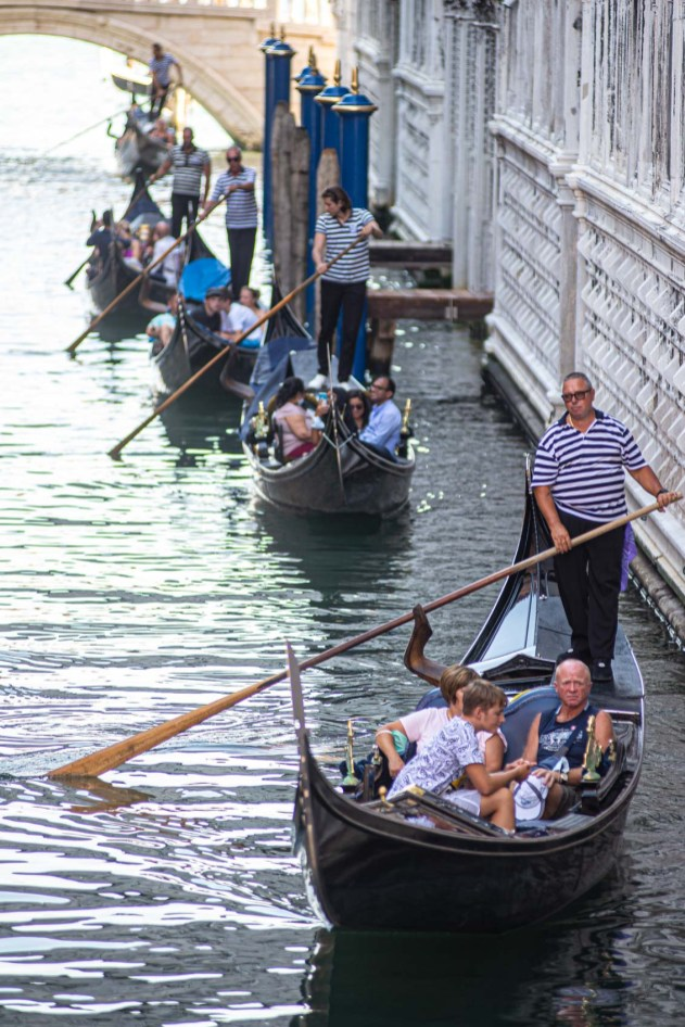 Gondoles Italie Blog Voyage