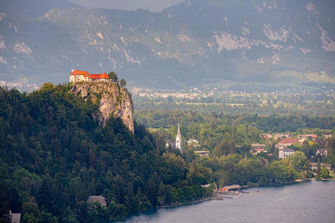 Château du lac de bled une semaine en Slovénie guide blog voyage