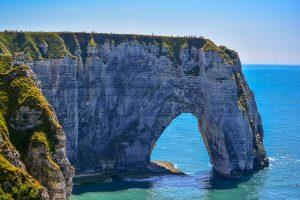 Etretat Blog Voyage Que faire en France Que faire en Normandie Rochers Arches Aiquille