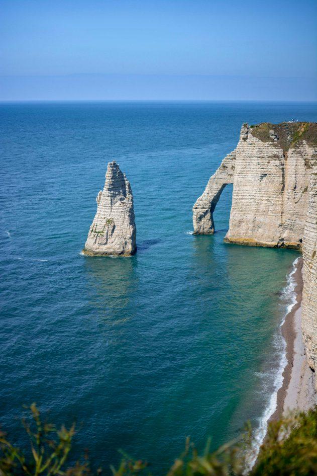 Etretat Blog Voyage Que faire en France Que faire en Normandie Rochers Arches Aiquille-21