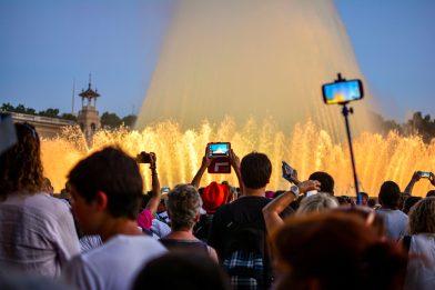 Fontaines Magiques Montjuic Capitale Catalane Barcelone Blog Voyage
