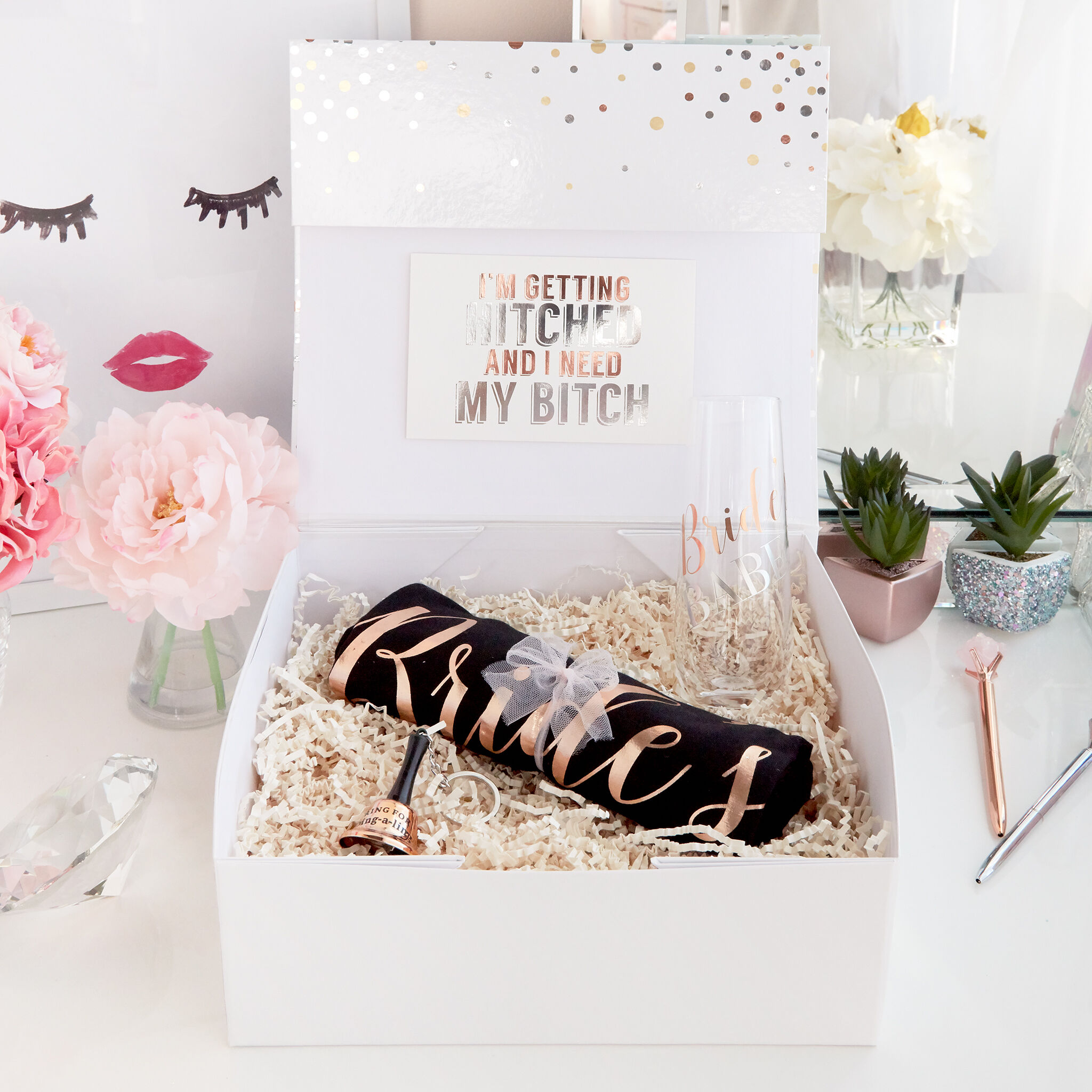 Will You Be My Bridesmaid Gift Set Icing Us