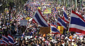 Protesters Shutdown Bangkok To Oust PM