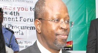 2014 Budget: FG Administers Oaths On Procurement Officers – The Punch
