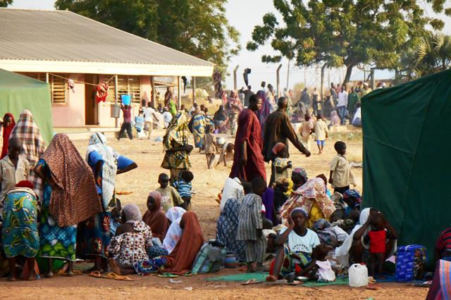 Internally Displaced Persons, IDPs, in the North east