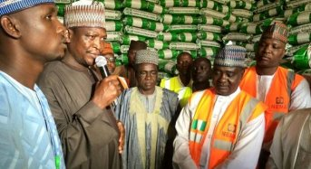 NEMA Donates 13,400 Bags Of Food Items To Maiduguri IDPs