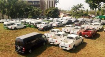 ICPC Recovers 95 SURE-P Vehicles From Government Officials