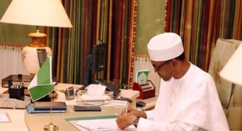 President Buhari Signs 30 Bills Into Law