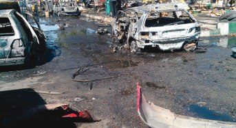 Another Bomb Attack Hit Madagali