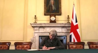 UK Begins Formal Brexit Process