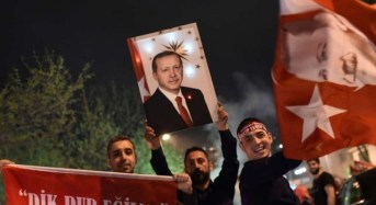 Celebration, Protest Greet Turkey's Referendum Result