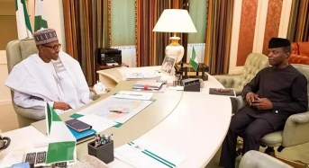 Osinbajo: Buhari will return much sooner than you expect… I had a good time with him