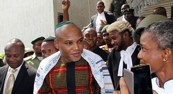 Kanu: I control the people 100 per cent… no gov election in Anambra on Nov 18
