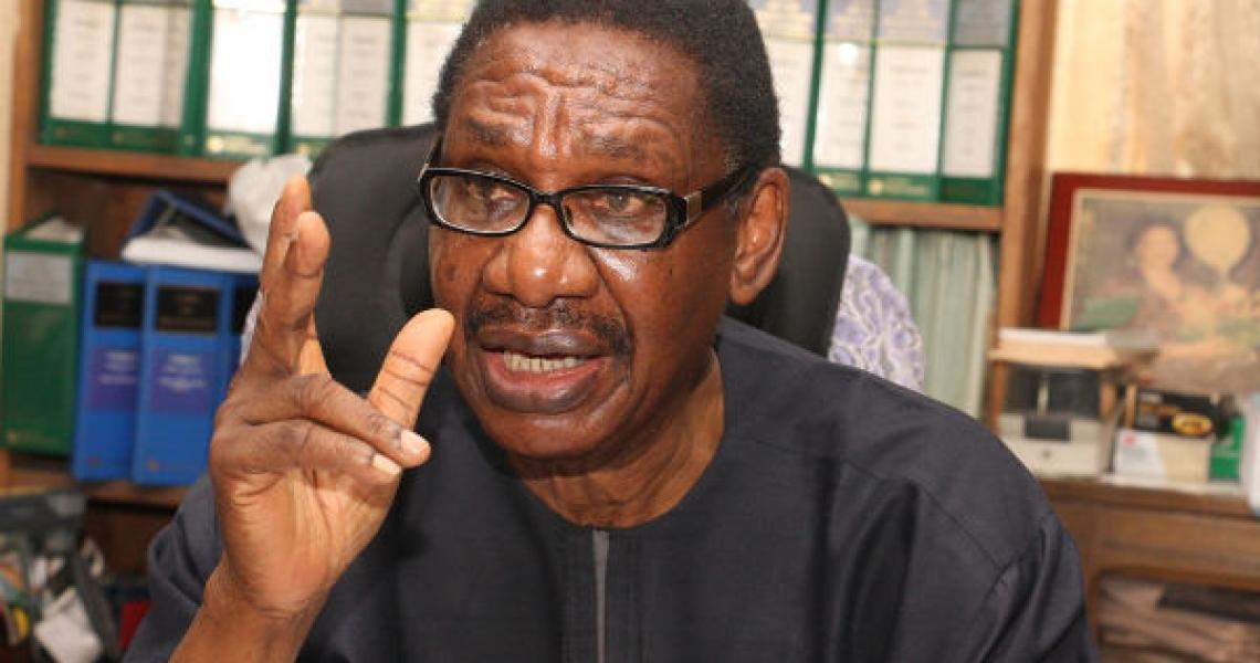 APC to Sagay: Buhari dug you out of oblivion but now you're behaving like a rogue