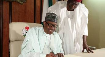 QUESTION: Can Buhari officially resume work while the senate is on recess?