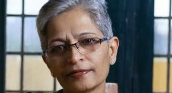 Lankesh, 'courageous' Indian journalist, gunned down outside home