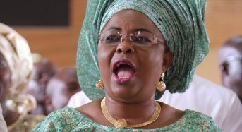Let my mother rest in peace, Patience Jonathan tells Magu