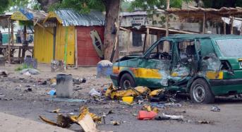 12 feared dead as two male bombers strike in Maiduguri