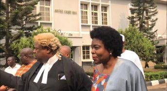 Akinjide, ex-FCT minister, back in court for 'collecting N650m bribe' from Diezani