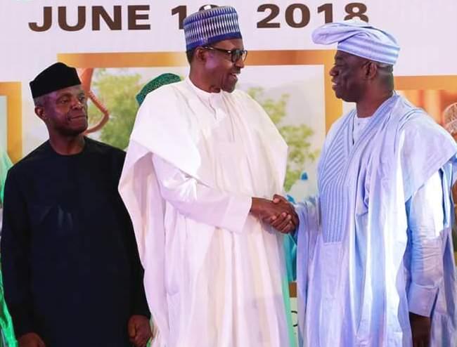 I think it's very political... Kola Abiola speaks on posthumous award to his father