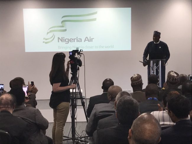 FG unveils name, logo of new national carrier