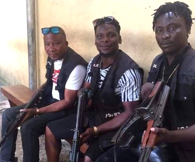 Photo of 'SARS officials' dressed like 'armed robbers' causes outrage on Twitter