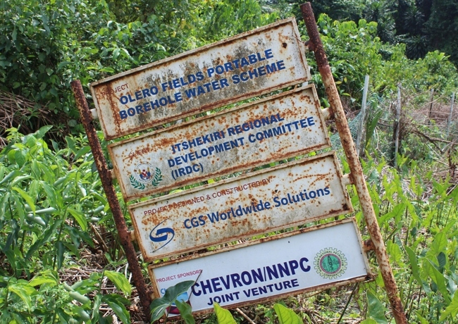 INVESTIGATION: Itsekiriland... Abandoned projects litter community as leaders 'swallow' Chevron's N7.2bn development fund