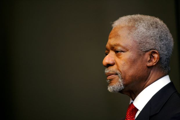 Kofi Annan: African's proud son who married a Nigerian