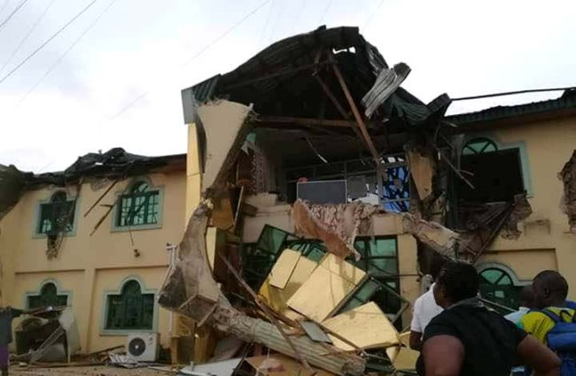 'Power-drunk' Ajimobi should clap for himself... Nigerians react to demolition of Ayefele's Music House