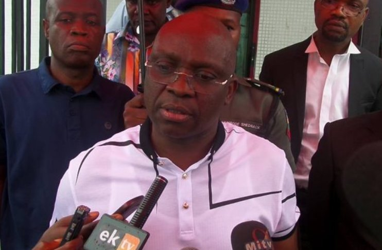 Is Fayose among 50 high profile citizens banned from leaving Nigeria?