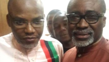 Nnamdi Kanu says he has instructed lawyers in Britain to