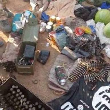 Army offensive against Boko Haram leads to recovery of arms cache4