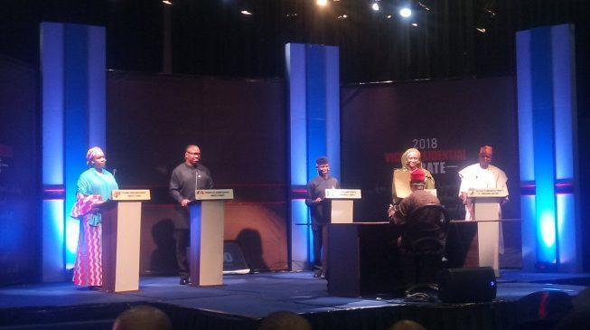 Osinbajo, Obi, others spar at vice presidential debate