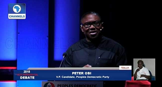 FACT CHECK: Peter Obi's eleven false claims at VP debate