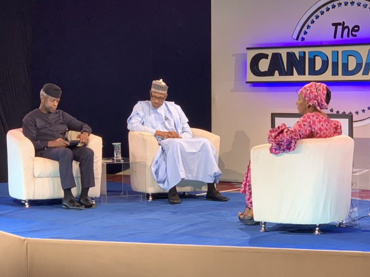 The Candidates: Five questions Buhari did not answer during town hall meeting