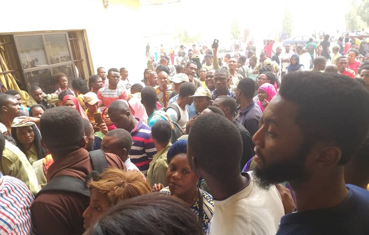 INEC adhoc staff protest non-payment of allowances in Ilorin